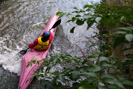 PYCC BoaterX: Down the weir