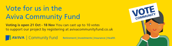 Vote for KCC in the Aviva Community Fund